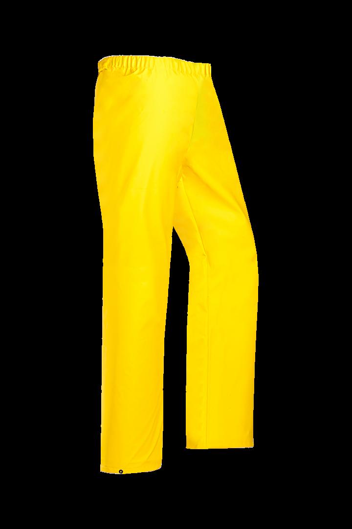 Sioen Regenbroeken Rotterdam geel