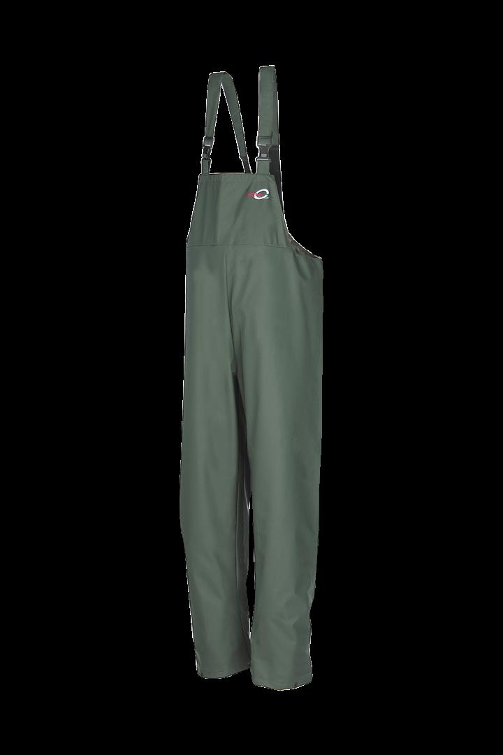 Sioen Amerikaanse regenoveralls Louisiana  groen khaki