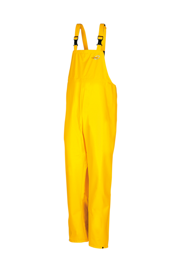 Sioen Amerikaanse regenoveralls Louisiana  geel