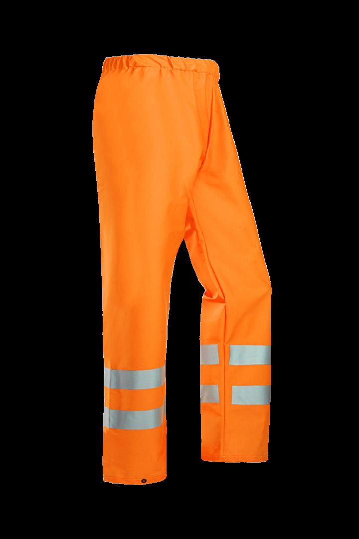 Sioen Regenbroeken Gemini  fluo-oranje