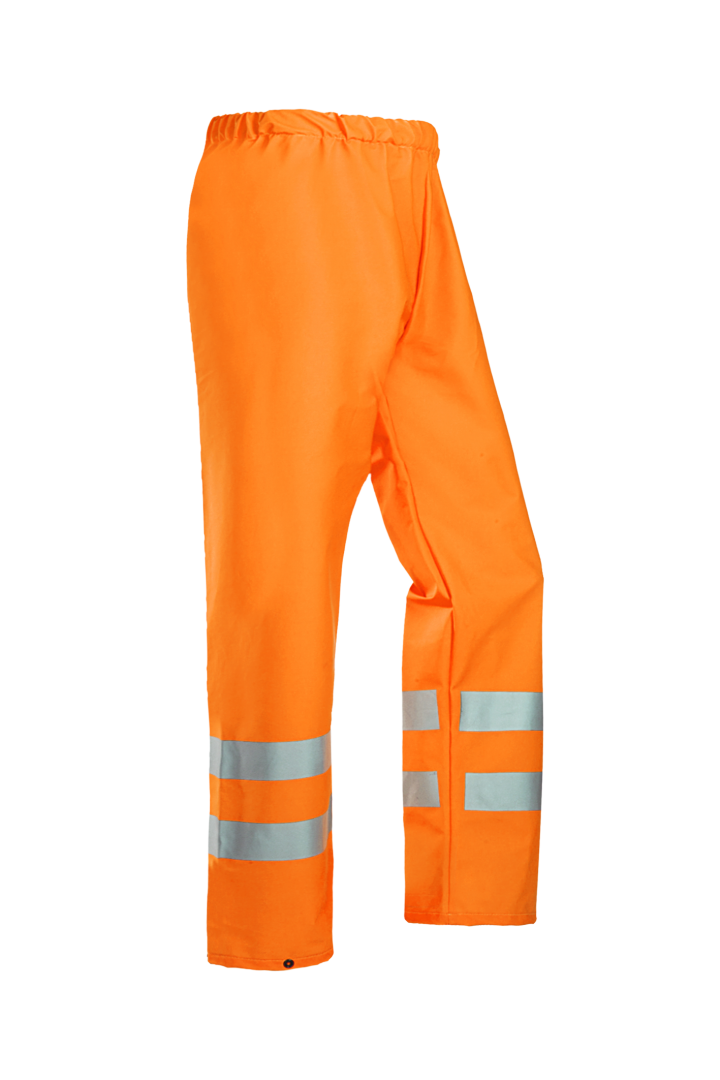 Sioen Regenbroeken Greeley  fluo-oranje