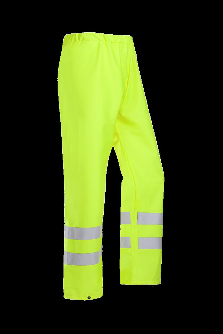 Sioen Regenbroeken Gemini  fluo-geel