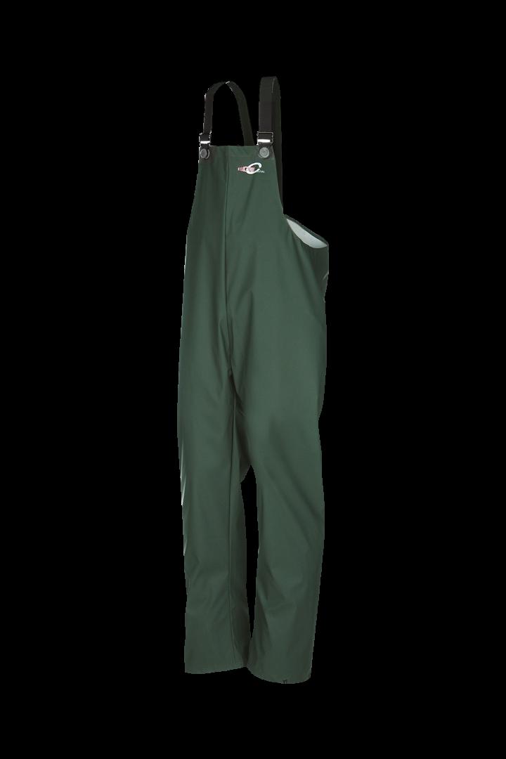 Sioen Amerikaanse regenoveralls Bandung  groen khaki