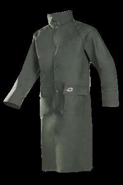 Sioen Regenmantels Gascogne  groen khaki