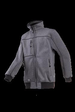 Sioen Sweater jassen Sherwood  antracietgrijs
