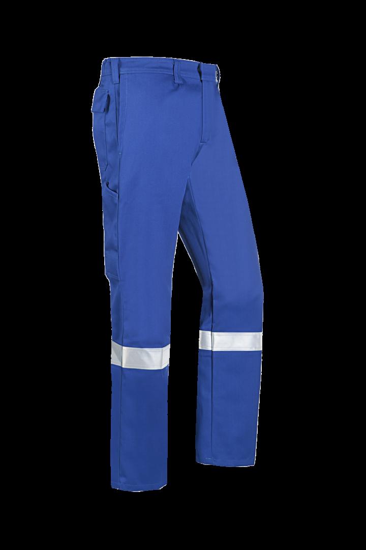 Sioen Werkbroeken Bardi  kobaltblauw