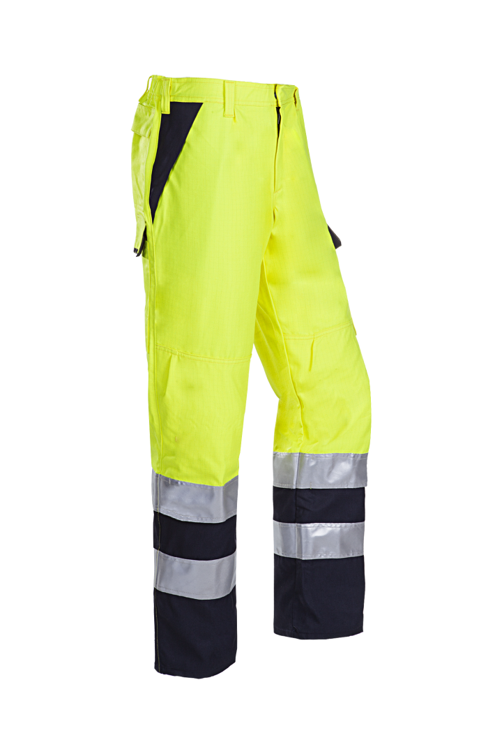 Sioen Werkbroeken Matour Multinorm- ARC fluo geel-marine