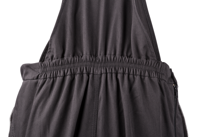 Elasticated backside of the waist