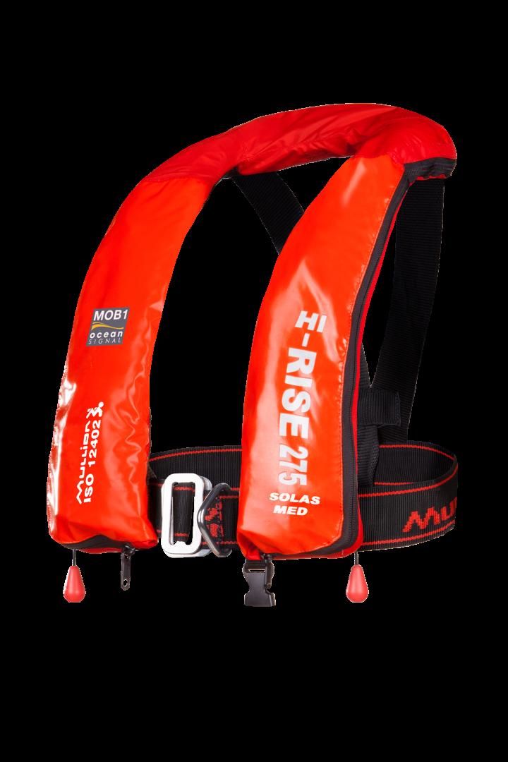 MOB1 Hi-Rise 275 SOLAS Wipe Clean - Lifejacket