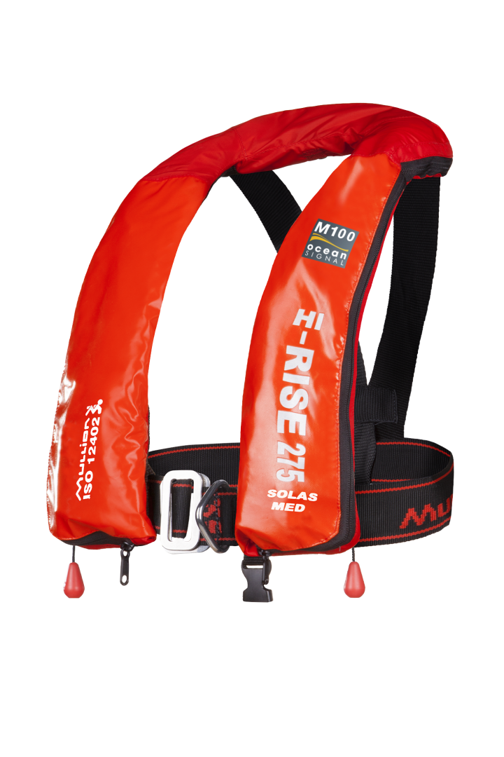 M100 Hi-Rise 275 SOLAS Wipe Clean - Lifejacket