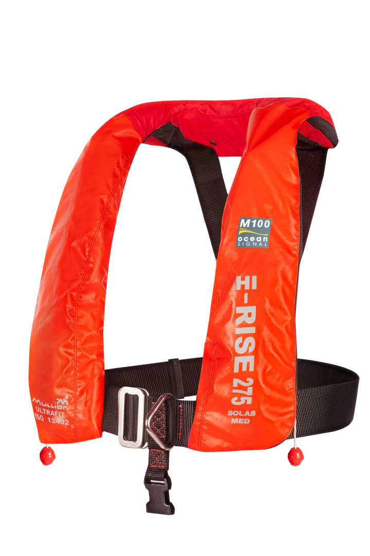 M100 Hi-Rise 275 SOLAS Wipe Clean - Ultrafit - Lifejacket