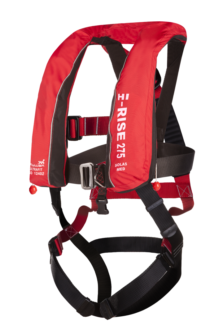 Hi-Rise 275 SOLAS - Ultrafit + Fall Arrest Harness - Lifejacket