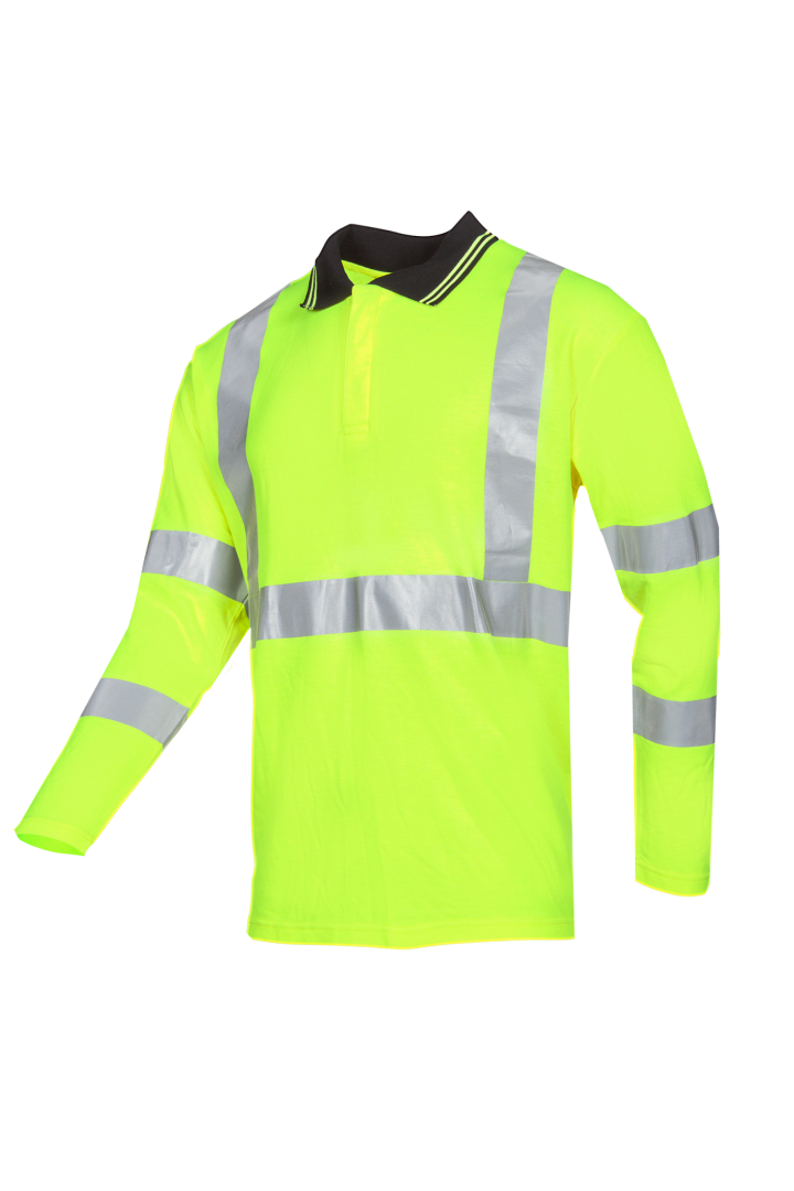 Sioen Poloshirts Elgin Multinorm- ARC fluo-geel