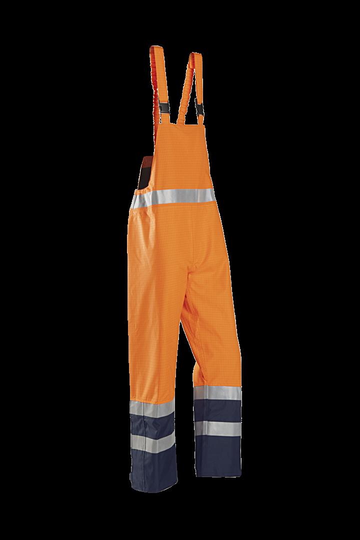 Sioen Amerikaanse regenoveralls Brisbane  fluo-oranje