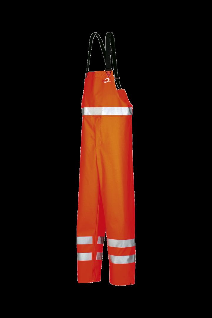 Sioen Amerikaanse regenoveralls Amberg  fluo-oranje