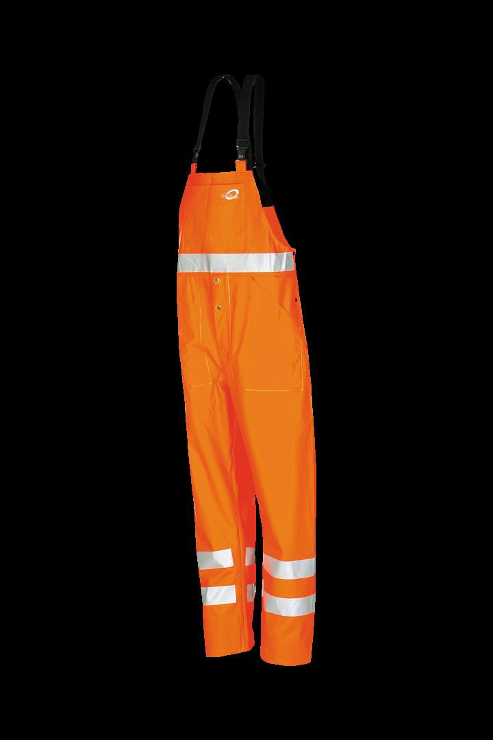 Sioen Amerikaanse regenoveralls Aoba  fluo-oranje