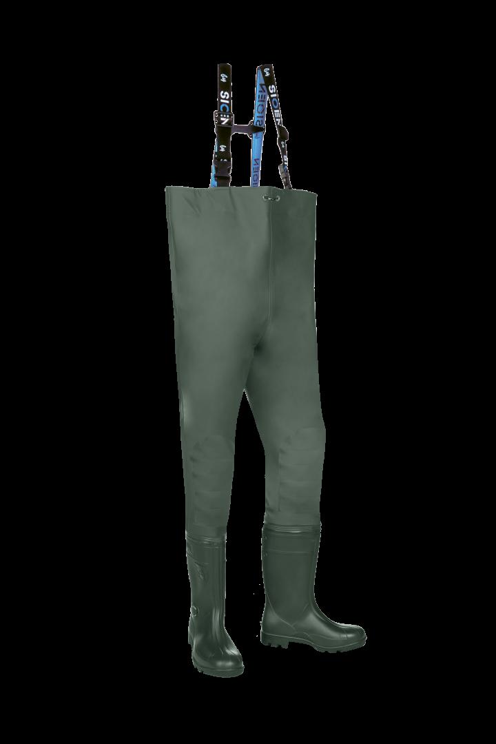 Sioen Waadbroeken beveiligd Falmore khaki