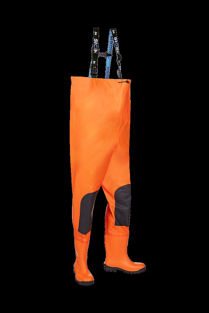 Sioen Waadbroeken beveiligd Gyleen High Vis fluo oranje