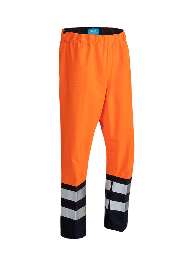 Sioen Broeken Hovi Multinorm- ARC fluo oranje-marineblauw