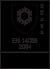 EN 14058 : 2004 / Class 2 3 x x x