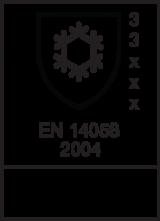 EN 14058 : 2004 / Class 3 3 x x x