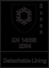 EN 14058 : 2004 / Class 3 x x x x
