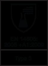EN 14605 : 2005 + A1 : 2009 Type 3