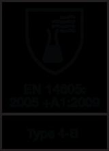 EN 14605 : 2005 + A1 : 2009 Type 4-B