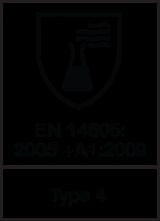 EN 14605 : 2005 + A1 : 2009 Type 4