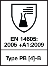 EN 14605 : 2005 + A1 : 2009 Type PB (4)