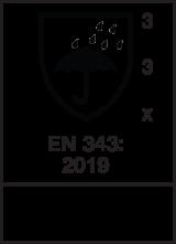 EN 343 : 2019 / Class 3-3-X
