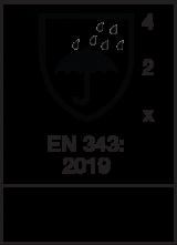 EN 343 : 2019 / Class 4-2-X