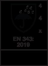 EN 343 : 2019 / Class 4-4-X