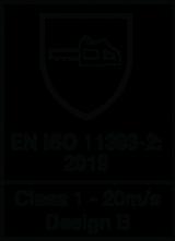 EN ISO 11393-2 : 2019 / Class 1 - 20 m/s design B