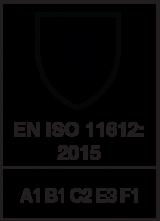 EN ISO 11612 : 2015 / A1 B1 C2 E3 F1