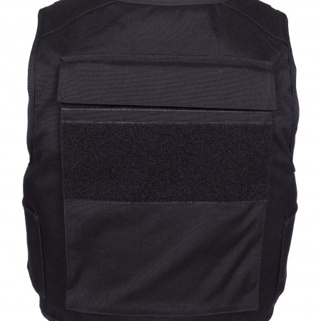 External front and back plate pocket (dimension plates: width: 25 cm / height: 30 cm)