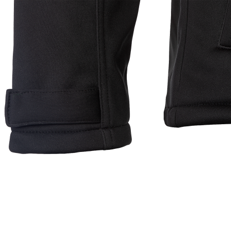 Sleeve narrowing by touch and close fastening