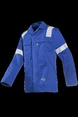 Sioen Werkjasjes Novara  kobaltblauw