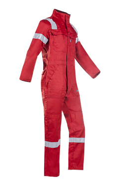 Sioen Overalls Carlow Multinorm- ARC rood
