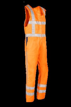 Sioen Bodybroeken Herven High Vis- RWS fluo-oranje