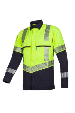 Colne - Hi-Vis Yellow/Navy