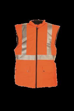 Sioen Bodywarmers Arras fluo-oranje