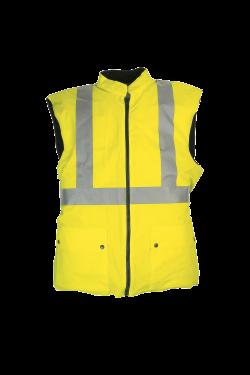 Sioen Bodywarmers Arras fluo-geel