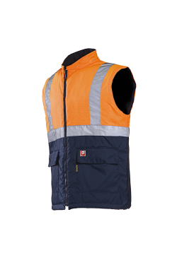 Bravone - Hi-Vis Orange/Navy