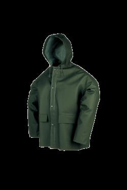 Sioen Regenjassen Brest  groen khaki