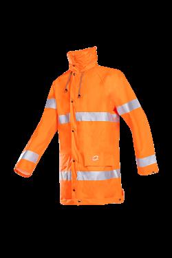 Sioen Regenjassen Lassen  fluo-oranje