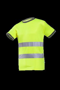Sioen T-shirts Mastra fluo-geel