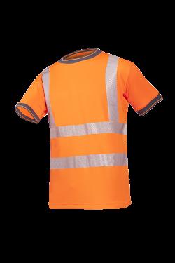 Sioen T-shirts Rovito fluo-oranje