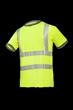 Sioen T-shirts Rovito fluo-geel