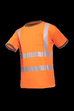 Sioen T-shirts Rotella fluo-oranje